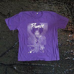 PRINCE purple tee shirt unisex XL